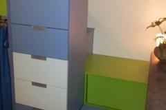 Postelové skříňky do dětského pokojíčku