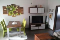 Obývací stěna vhodná do bytu